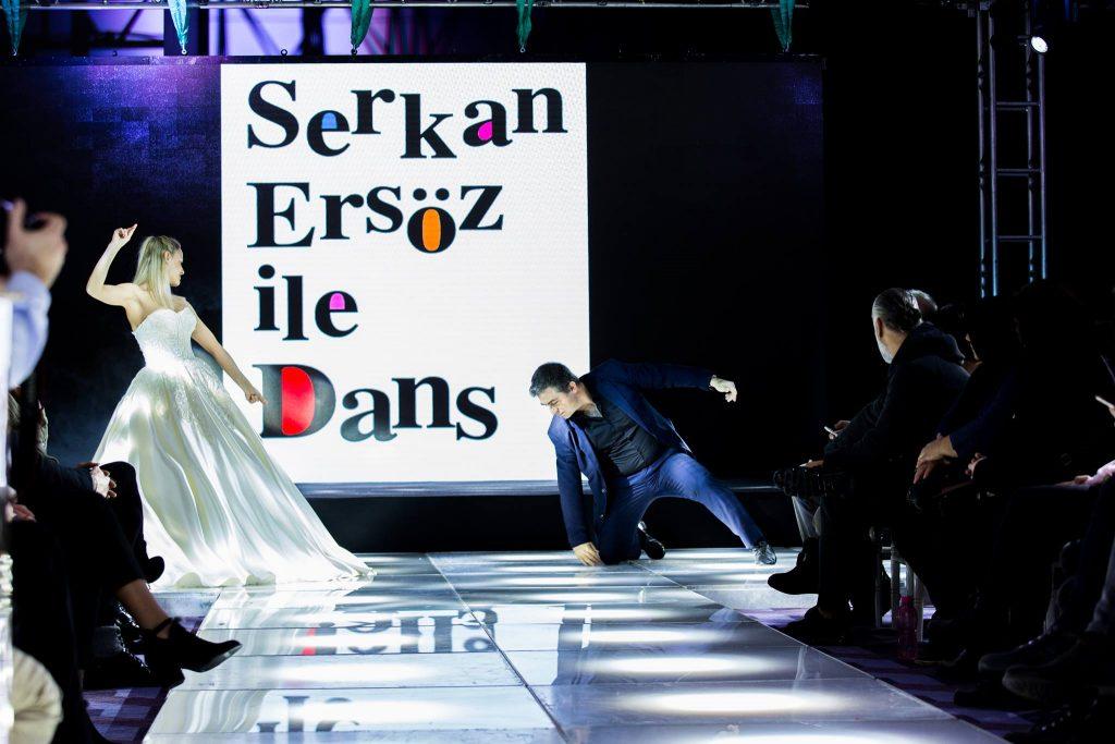 Serkan Ersöz düğün için harmandalı dans dersleri